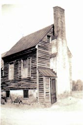 Brock House, circa 1930s-1940s; a Henrico County, Virginia structure that no longer exists.