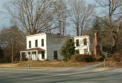Henley House, a Henrico County, Virginia structure that no longer exists.