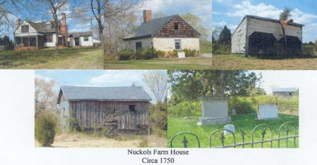 Collage of various pictures of Nuckols Farm, Henrico County, Virginia.