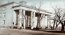 Vintage photo of White House of the Confederacy, Virginia.