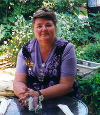 Sylvia Hoehns Wright, recipient of the 2006 Writer's Connection VA Book Competition Award.