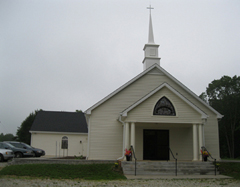 Attendees visited St. John Baptist Church.