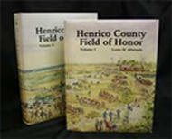 Henrico County Field of Honor two volume book set.