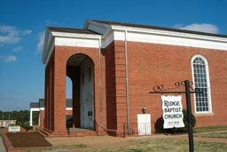 Ridge Baptist Church, today, in Three Chopt District, Henrico County, Virginia.